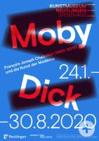 Plakat zur Ausstellung Moby Dick