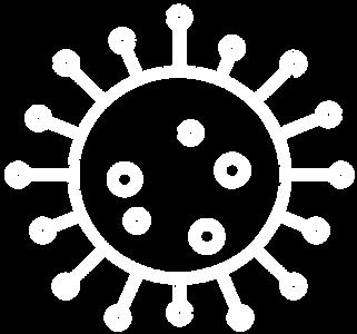 Illustration eines Virus