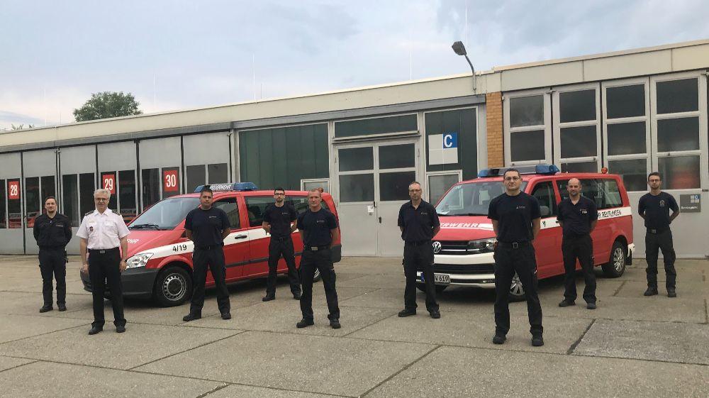 Zum dritten Mal hat sich ein Team der Reutlinger Berufsfeuerwehr auf den Weg nach Ahrweiler gemacht um die Kollegen abzulösen. Aufgabe ist die mobile Führungsunterstützungseinheit weiter zu betreiben